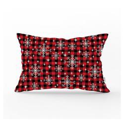 Vánoční povlak na polštář Minimalist Cushion Covers Christmas Tartan,35x55cm