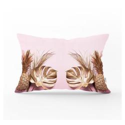 Dekorativní povlak na polštář Minimalist Cushion Covers Gold Pineapple,35x55cm