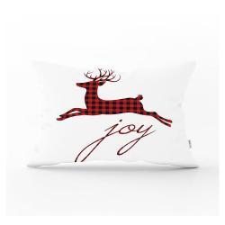Vánoční povlak na polštář Minimalist Cushion Covers Mr. Rudolph,35x55cm