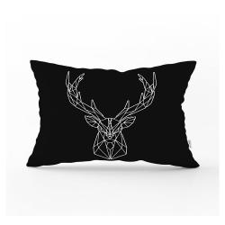 Dekorativní povlak na polštář Minimalist Cushion Covers Geometric Reindeer,35x55cm