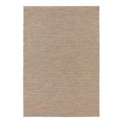 Hnědý koberec vhodný i na ven Elle Decoration Brave Caen, 120 x 170 cm