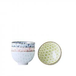 Set misek Asanoha Design 300 ml 4 ks MIJ