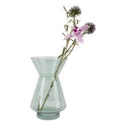 Zelená skleněná váza PT LIVING Glow,výška22cm