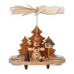 Vánoční dřevěná dekorace Bloomingville Raz Votive