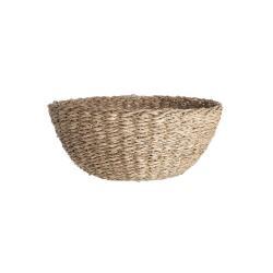 RUSH ROPE Úložný košík 25 cm - přírodní