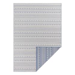 Modro-bílý venkovní koberec Ragami Kahira, 80 x 150 cm