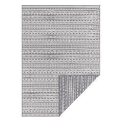 Šedo-bílý venkovní koberec Ragami Kahira, 160 x 230 cm