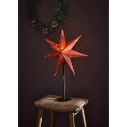Červená vánoční světelná dekorace Markslöjd Embla