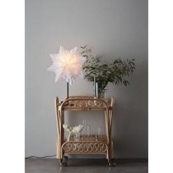 Bílá vánoční světelná dekorace Markslöjd Neela