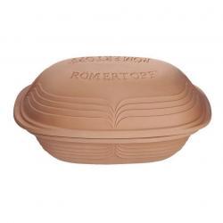 Římský hrnec s víkem velký Modern Look přírodní® Römertopf