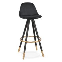 Černá barová židle KokoonCarry, výška sedáku 75cm