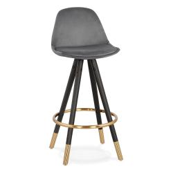 Tmavě šedá barová židle KokoonCarry Mini, výška sedáku 65cm