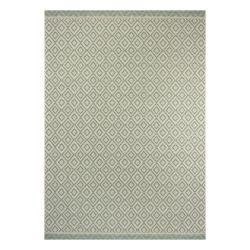 Zeleno-béžový venkovní koberec Ragami Porto, 70 x 140 cm