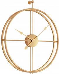 Tutumi 3D nástěnné hodiny Coat 60 cm zlaté