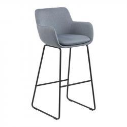 Hector Barová židle Lisa světle modrá