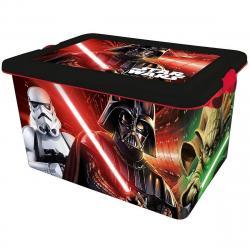 STOR Dekorační úložný box Star Wars, 23 l
