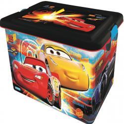 STOR Dekorační úložný box Cars 3, 23 l