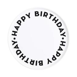 HAPPY BIRTHDAY Talíř dortový 32 cm