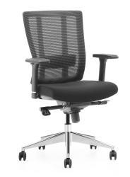 ADK Trade s.r.o. Kancelářská síťovaná židle ADK Rondo, černá