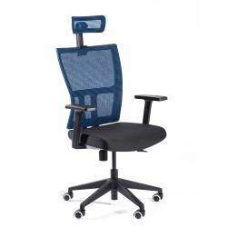 ADK Trade s.r.o. Kancelářské síťované křeslo ADK Mercury Plus, modrá
