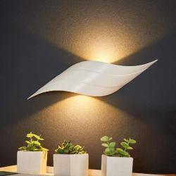 Mantra C0089 Tahiti nástěnné svítidlo 6W LED 3000K matná bílošedá, délka 31,5cm