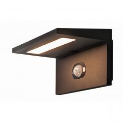 SLV 1002597 SLV Angolux WL, venkovní nástěnné solární svítidlo se senzorem, LED 1,8W 3000K, antracit, IP54