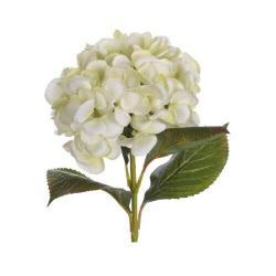 Umělá květina Hortenzie zelená, 65 cm