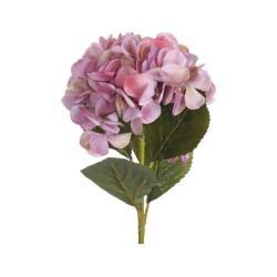 Umělá květina Hortenzie růžová, 65 cm