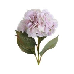 Umělá květina Hortenzie světle růžová, 65 cm