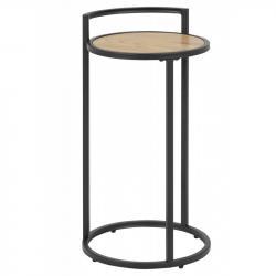 Hector Kulatý odkládací stolek Rena dub