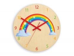 3kraft Nástěnné hodiny Rainbow