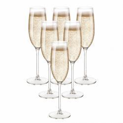Royal Leerdam 6dílná sada sklenic na šampaňské, 200 ml