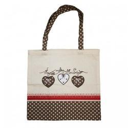 Trade Concept Nákupní taška Srdce, 40 x 42 cm