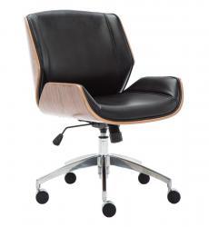 Shoptop Kancelářská židle RON černá/ořech