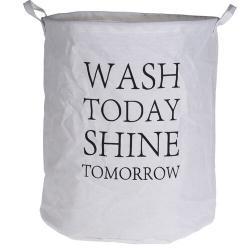Textilní koš na prádlo Wash today, 40 x 50 cm