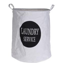 Textilní koš na prádlo Laundry service, 40 x 50 cm