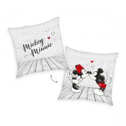 Herding Polštářek Mickey & Minnie, 40 x 40 cm