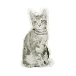 Forbyt Tvarovaný 3D polštářek Kočka, 27 x 44 cm