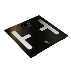 Berlinger HausOsobní váha Smart s tělesnou analýzou 150 kg Shiny Black Collection