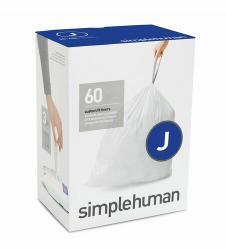Sáčky do odpadkového koše 30-45 L, Simplehuman typ J zatahovací, 3 x 20 ks ( 60 sáčků )