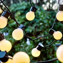SUNSET Venkovní světelný řetěz 24 světel