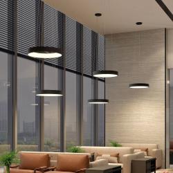 Arcchio Arcchio Aleksi LED závěsné světlo Ø 60 cm, kulaté