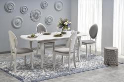 Halmar Rozkládací jídelní stůl Horacy bílý