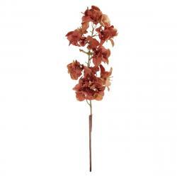 Umělá květina Bugenvilie hnědá, 64 cm