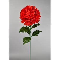 Umělá květina Chrysantéma 50 cm, červená