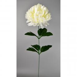 Umělá květina Chrysantéma 50 cm, bílá
