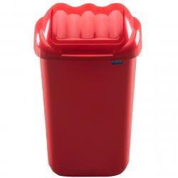 Aldotrade Odpadkový koš FALA 30 l, červená