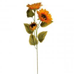 Umělá květina Slunečnice, 86 cm