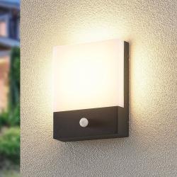 Lindby Lindby Vanira LED venkovní nástěnné světlo, senzor
