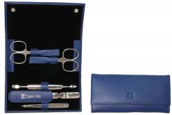 Zwilling manikúra Classic Inox v koženém pouzdře, 5 ks, modrá
